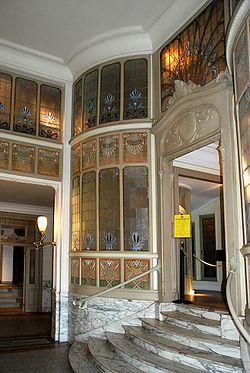 Art nouveau en belgique for Assurance maison belgique
